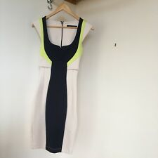Smart Bodycon Dress French Connection Size 6 Roland Mouret Galaxy Style Mad Men