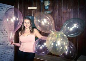 "10 x Belbal 14"" Luftballons CRYSTAL-SOAP COLORS *B120*NEW*NEU*"