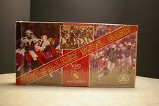 NEW VINTAGE 1988 VHS VCR COLLEGE BOWL GAME OFFICIAL COLLEGE FOOTBALL ASSOCIATION