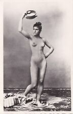 Vintage Arab Female Full Nude- 1910 Portrait by studio Lehnert and Landrock