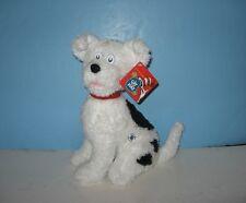 "New 12"" Cat in the Hat Puppy Dog NEVIN Bean Stuffed Plush Animal"