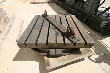 """10335 56"""" x 36"""" Rotary Table, 6 T-Slots"""