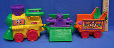 Fisher Price Little People Zoo Train Engine Car Caboose Musical Requires 3 AAA