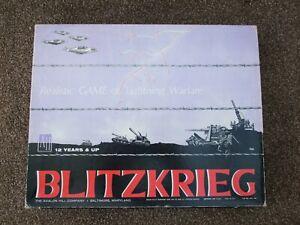 BLITZKREIG Lightning Warfare Game - Avalon Hill No 700