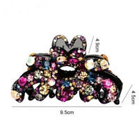 Rhinestone Grab Clip Women Crystal Hair Claw Alloy Hair Style Accessories