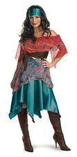 Sexy Adult Deluxe Bohemian Babe Gypsy Fortune Teller Costume - Small Size 4-6