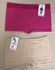 NWT JOCKEY BOYSHORTS Underwear Panties 2-Pairs Women's size 6