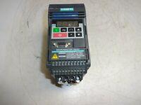 SIEMENS 6SE3213-6CA40 MICROMASTER AC DRIVE