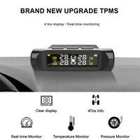 Wireless TPMS Realtime Car Tire Tyre Pressure Monitor System w/4 External Sensor