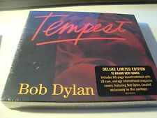 RAR DELUXE LIMITED EDITION CD. BOB DYLAN. TEMPEST. SEALED. STICKER