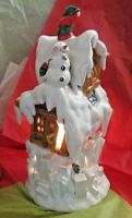 North Pole Place Tealight Votive Candle holder Ice House Occaxions By: Dorr Eddy