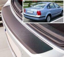 VW Passat B5 Saloon - Carbon Style rear Bumper Protector