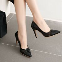 OL Womens Lady Heels High Stiletto Pointed Toe Mesh Pumps Party Sexy Office Shoe