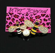 Betsey Johnson fashion j 00004000 ewelry Enamel Lovely bee Charm Woman Brooch Pin