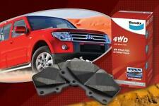 BENDIX 4WD FRONT BRAKE PAD FOR HOLDEN RODEO RA 4WD 03-ON COLORADO 08-ON