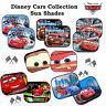 2x Disney Cars Collection Sunshade Baby Boy Kids Children Car Window Sun Shades