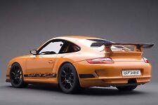 PORSCHE 911 (997) GT3 RS ORANGE 1:12 by AUTOart #12117 BRAND NEW IN BOX RARE