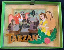 2019 Disney D23 Expo WDI MOG Tarzan Jumbo Pin 20th Anniversary Pin LE 200