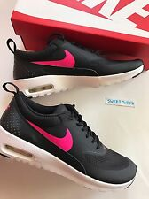 NIB Nike Air Max Thea youth 5.5Y Black/Pink Athletic Running Girl Gradeschool
