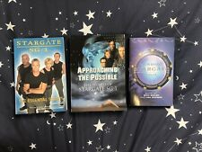 Collection Of 3 RARE Out Of Print Collectible Stargate SG1 Books Titles Anderson