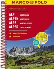 MARCO POLO Reiseatlas Alpen, Norditalien 1:300 000 (Taschenbuch)