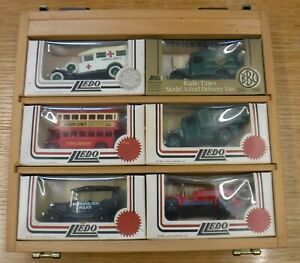 Lledo boxed Set or 6 models, can be hung on wall in box. Mint individual boxes