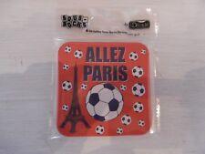 Lot de 6 sous-bocks ALLEZ PARIS PSG Foot biere boisson bar bistrot déco humour