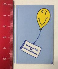 Aufkleber/Sticker: Ich Denk An Dich - Die Glückwunschkarte - Ballon (30031661)