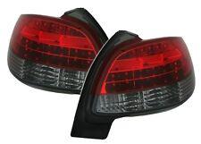 FEUX ARRIERE LED PEUGEOT 206 1998-2007 1.9 D 2.0 16S S16 AR NOIR ROUGE M