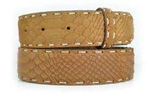 Cinturones de mujer de color principal marrón de piel