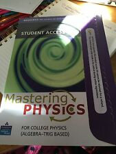 Student Access Kit for MasteringPhysics for Algebra-Based Physics by David...