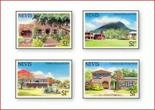 NEV8501 Tourist attractions 4 stamps