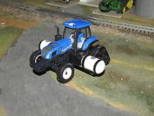 1/64 Ertl New Holland Farm Show Genesis T8.435 SmartTrax Tractor w/ Saddle Tanks
