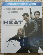 HEAT Steelbook (2-disc Blu-ray Region-Free German/French Import) Remastered Rare