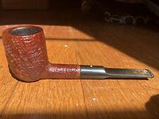 "Dunhill ""Tanshell"" group 4 billiard shape briar pipe"
