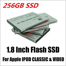 256GB SSD Flash Replace TOSHIBA MK1634GAL 160GB HDD For IPOD 7th Gen Classic