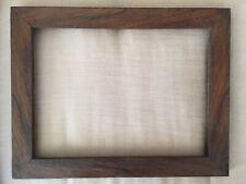 BIEDERMEIER RAHMEN NUSSBAUM FURNIERT ORIGINALZUSTAND 43,2 cm x 33,8 cm