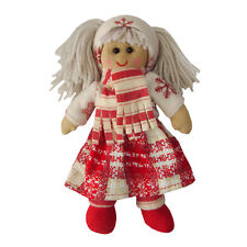 Rag Doll w/Scarf - Handmade - Powell Craft - Medium 20cms or Large 40cms Avail