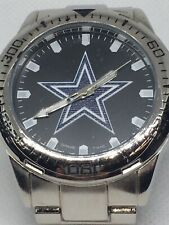 DALLAS COWBOYS Men's Stainless Steel Watch w/ Case New w/ Tags