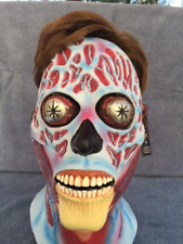 Halloween Costume THEY LIVE UFO SPACE ALIEN LATEX DELUXE MASK Haunted House NEW