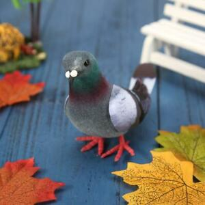 Simulation Foam Pigeon Model Fake Artificial Imitation Bird Garden Toy Ornament