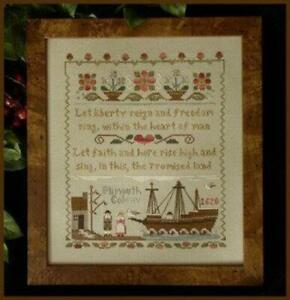 Mayflower Landing by Little House Needleworks cross stitch pattern