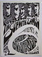 ORIGINAL HANDBILL, Sopwith Camel, Matrix, San Francisco, 1966