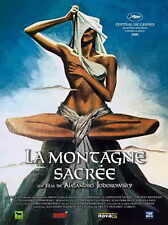 THE HOLY MOUNTAIN Movie POSTER 27x40 French