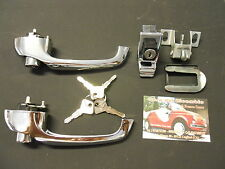 Handles outside and Lock Rear Fiat 500 F LR Key only MAN015