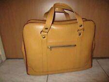 Damentasche,Bürotasche,gelbe Kunstleder Tasche,Design,70er Jahre,Vintage Tasche,