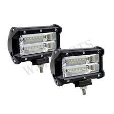 Car Truck 72W 12V 24V 5 inch LED Work Spot Light Flood Driving Bright Bulb SUV