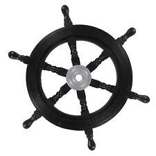 Nautical Maritime Queen Anne's Revenge Pirate Wooden Ships Wheel Home Decor
