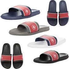 Enzo Mens Sliders Slip On Summer Flip Flops Slides Holiday Beach Sandals