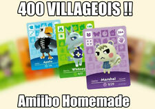 🍃 Carte Amiibo Animal Crossing NFC - Choisir SON Villageois - LIRE DESCRIPTION